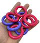"""The 3272 pack 9 2"""" Plastic Ring is an easy and convenient way to provide lots of simple foot toys for your feathered friend. Each ring in the pack is colored."""