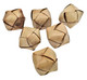 The 3403 pk6 Small Palm Balls are basic fun filled foot toys for your small sized pet bird. The palm balls are natural in color and include (6) in the pack.