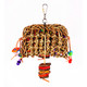 The 2155 Medium Seagrass Pouch from Bonka Bird Toys is a beak pleasing packed pouch of fun for your medium feathered friend! Almost everything can be chewed.