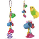 The 001108 Cheers from Bonka Bird Toys is a great little toy that will promote healthy chewing habits for your small favorite feathered friend.