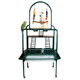 OPEN BOX - WHITE - PP 502 Kings Cages Metal Playstand