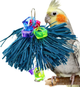 2006 Raffia bush will entertain with playful shredding and preening, your small to medium sized bird will just love to get all over and in this colorful toy.