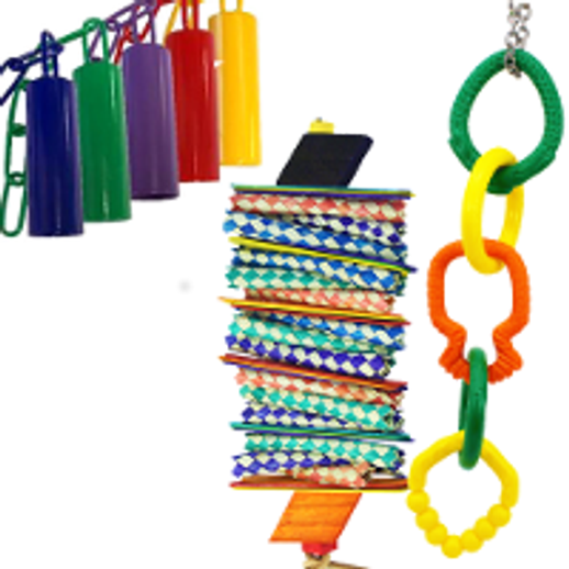 Bonka Bird Toys | Best Selling Bird Toys for Amazon Parrots