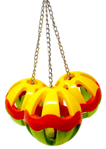 What are Some Good Plastic Ball Bird Toys?