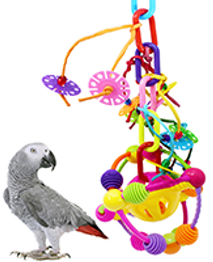 What is a good play gym bird toy?