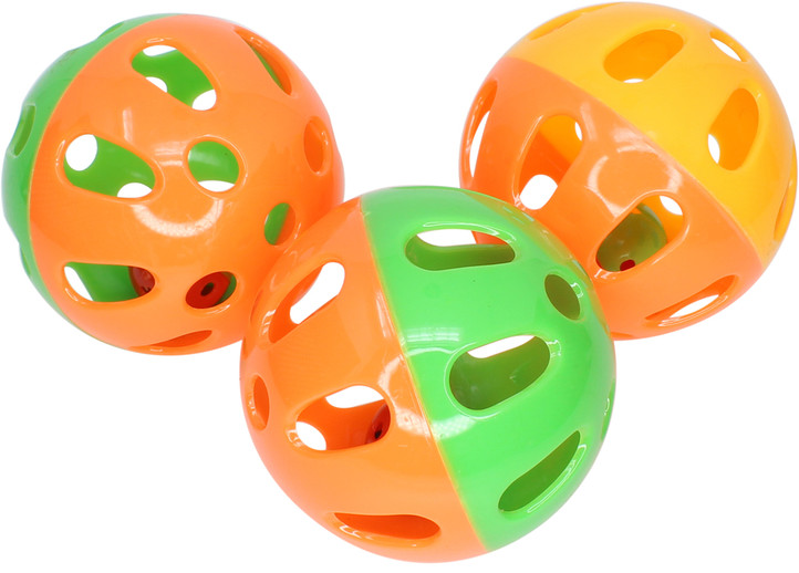 ​What is the 2032 3Pk Tri Colored Plastic Balls?