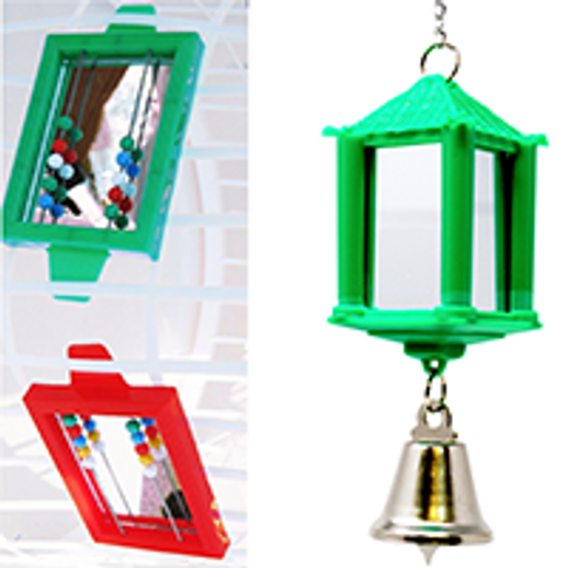 What are fun bird toy mirrors?