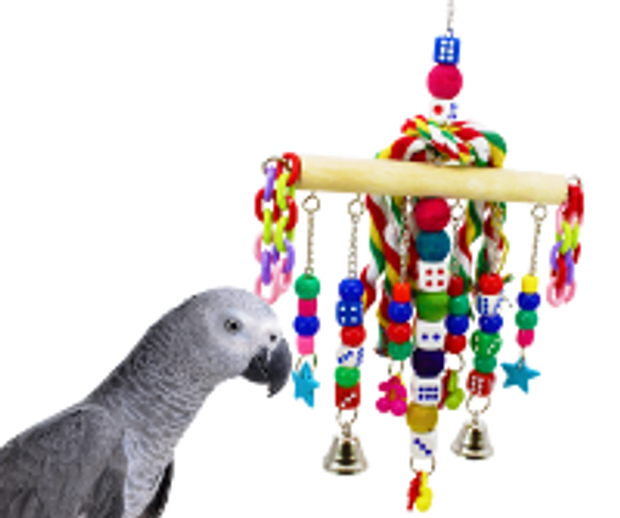What is the best selling parrot toy?