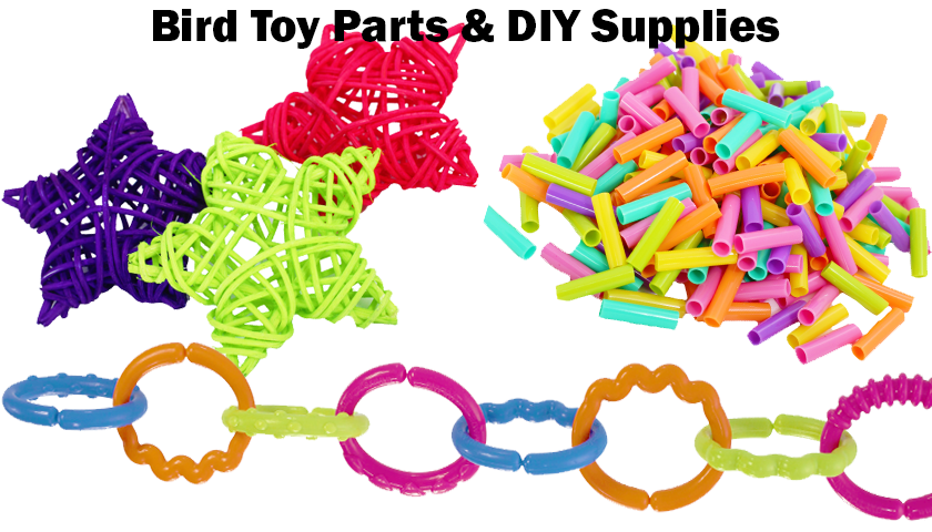 Bird Toy Parts Diy Supplies Page 1 Bonka Bird Toys