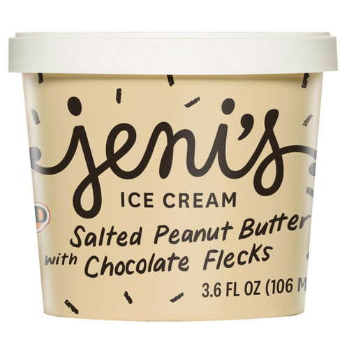 Salted Peanut Butter with Chocolate Flecks Street Treats (12-pack) - Jeni's Splendid Ice Cream