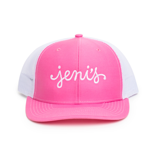 Pink Trucker Hat - Jeni's Splendid Ice Cream