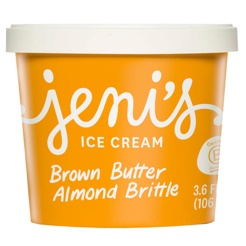 Brown Butter Almond Brittle Street Treats - Jeni's Splendid Ice Cream