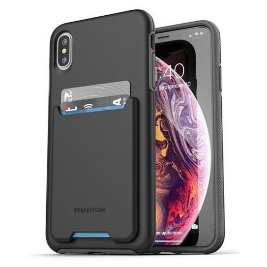 low priced 2d678 98ee2 Encased Phantom Wallet Case iPhone Xs Max - Black