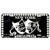 Broadway License Plate
