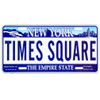 Times Square License Plate