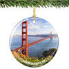 Porcelain San Francisco Christmas Ornament