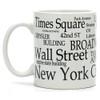 White New York City Mug