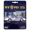 New York Police NYPD Car Toy Set