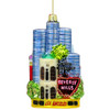 Glass Los Angeles Christmas Ornaments