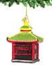 Pagoda Glass Ornament