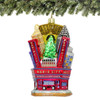 Glass Radio City Music Hall Christmas Ornament