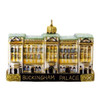 Glass London Buckingham Palace Christmas Ornament