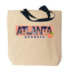 Georgia's Atlanta Canvas Tote Bag