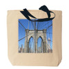 Brooklyn Bridge Canvas Tote Bag