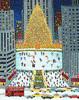 Rockefeller Center Scene Art