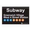West 4th Street Subway Greenwich Village Magnet