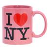 Pink I Love NY Mug