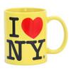 Yellow I Love NY Mug