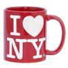 Red I Love NY Mug
