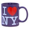 Purple I Love NY Mug