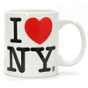 White I Love NY Mug