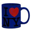 Dark Blue I Love NY Mug