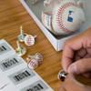 Baseball NY Mets Cufflinks