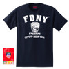 Navy FDNY T-Shirt Fire Department