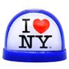 I Love NY Snow Globe Plastic