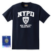 New York Police Department NYPD T-Shirt Navy