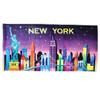 New York City Skyline Beach Towel and Bath
