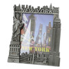 Pewter New York City Skyline Photo Frame