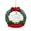 Washington DC Wreath Ornament