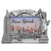 Silver Landmarks New York City Photo Frame