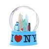 Blue NYC I Love NY Snow Globe