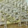 Golden Gate Bridge Mini Wire Models and Replicas with custom plaque