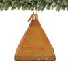 Egyptian Pyramid Ornament - Glass