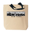 New York Tote Bag Canvas