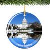 US Capitol Building Christmas Ornament
