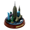 Wooden Base New York City Model 4.5 Inch